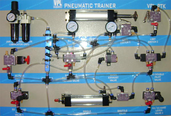 pneumatic trainer with electronic controller  vpl